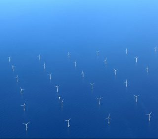 Renewable energy: Offshore wind farm