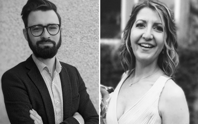The RIDG team expands: Marc Smeed and Isla Robb